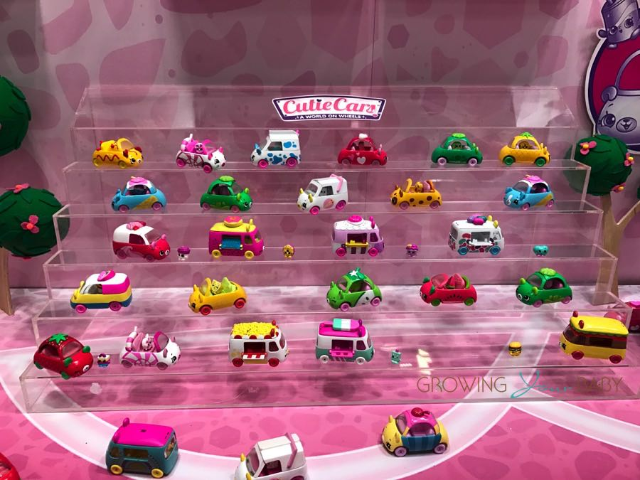Shopkins Cutie Cars Growing Your Baby