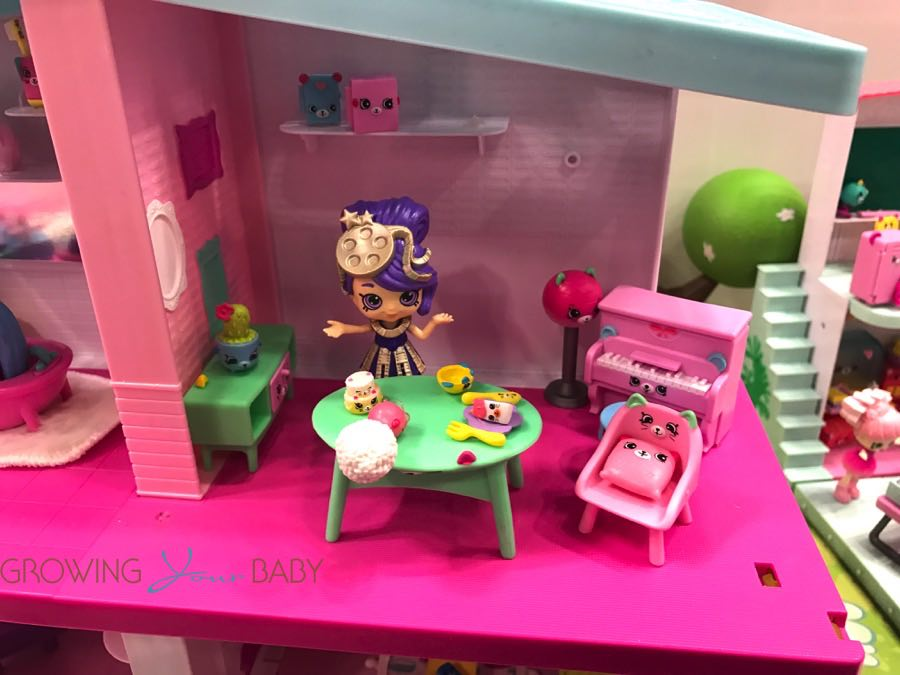 Shopkins Happy Places Mansion Playroom Growing Your