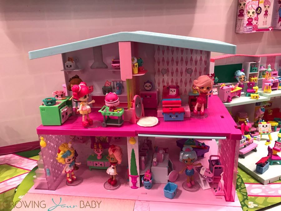 Shopkins Happy Places Mansion Growing Your Baby