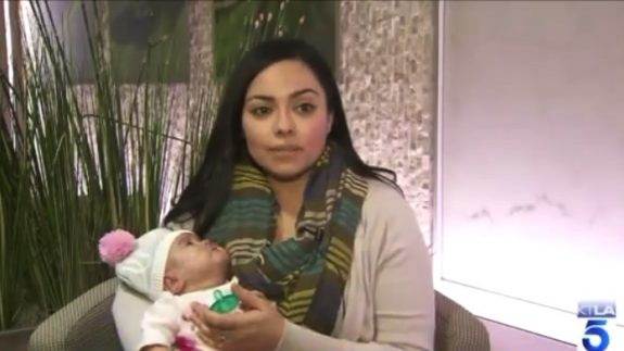 Teresa Murillo with daughter Ailey Rose Murillo