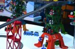 Thomas & FriendsTM Super Station - trains stored in the frame