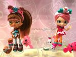 cocolette and Lucy Smoothie Shopkins Dolls
