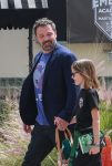 Ben Affleck with daughter Violet at Karate