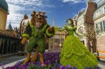 Epcot International Flower & Garden Festival topiaries