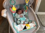 Fisher-Price Premium Auto Rock n Play Sleeper with canopy