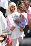 Gwen Stefani leaves Sunday Service with her son Apollo Rossdale