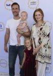 James Van Der Beek, Kimberly Brook, Olivia Van Der Beek, Emilia Van Der Beek at Safe Kids Day 2017
