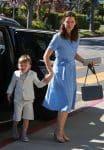 Jennifer Garner arrives at church with her son Sam for Easter Service