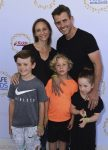 Joey McIntyre, Barrett Williams, Rhys McIntyre, Kira McIntyre, Griffin McIntyre At Safe Kids Day 2017