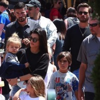 Kourtney Kardashian Celebrates Her 38th Birthday At Disneyland!