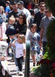 Kourtney Kardashian and Scott Disick at Disneyland with kids Mason, Reign and Penelope
