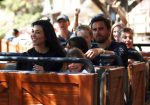 Kourtney Kardashian and Scott Disick at Disneyland with kids Mason and Penelope