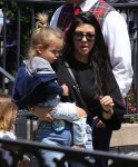 Kourtney Kardashian celebrates her birthday at Disneyland with son Reign