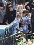 Kourtney Kardashian celebrates her birthday at Disneyland with sons Mason and Reign