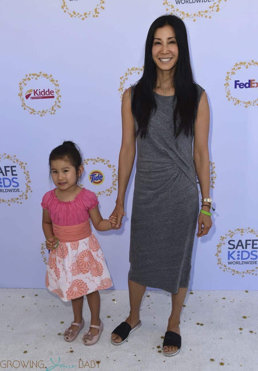 Britax Pinnacle Clicktight >> Lisa Ling, Ray Ling Song at Safe Kids 2017 - Growing Your Baby