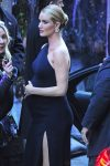 pregnant Rosie Huntington-Whiteley arrives at Radio City for 'The Fate of the Furious'