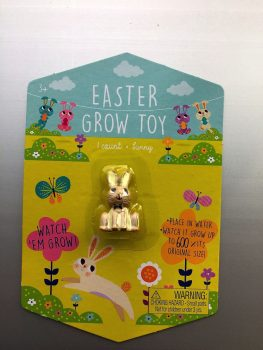 recalled Easter Grow Toy-Brown Bunny