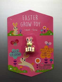 recalled Easter Grow Toy-White Bunny