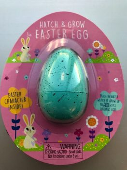 recalled Hatch and Grow-Blue Easter Egg