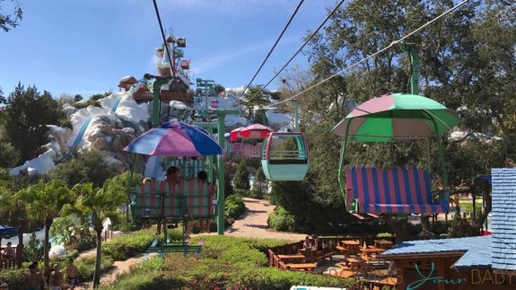 Blizzard Beach Water Park Orlando - chair lift