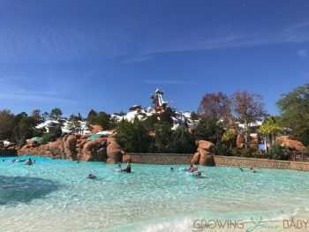 Blizzard Beach Water Park Orlando Main Pool Growing Your Baby