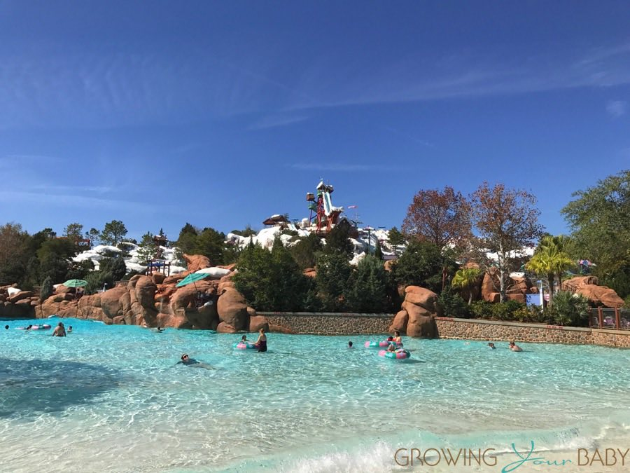 Blizzard Beach Water Park Orlando - main pool