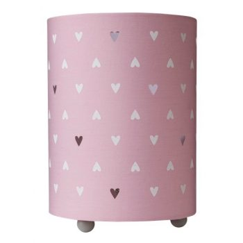 Cloud Island Uplight Table Lamp Hearts