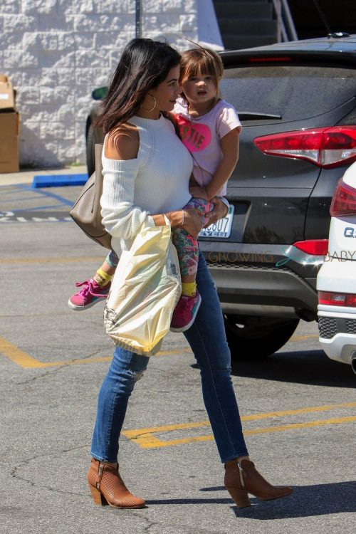 Jenna Dewan-Tatum and daughter Everly Tatum out in LA