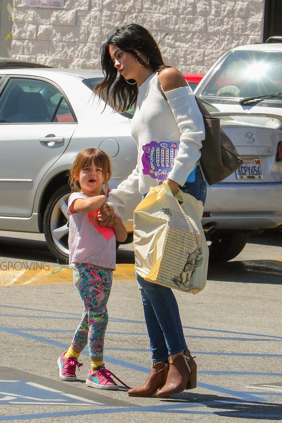 Jenna Dewan And Daughter Everly Tatum Out In La Growing