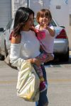 Jenna Dewan and daughter Everly Tatum out in LA