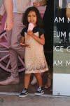 Kim Kardashian takes North West to the Ice Cream Museum