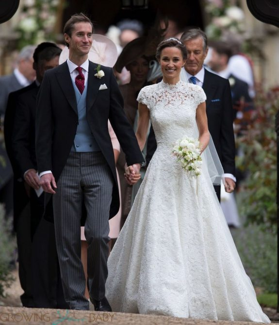 Pippa Middleton and James Matthews are married at St Mark's Church Englefield in Berkshire