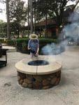 Port Orleans Riverside Resort - campfire