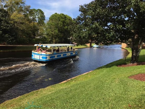 Port Orleans Riverside Resort - disney Springs Ferry