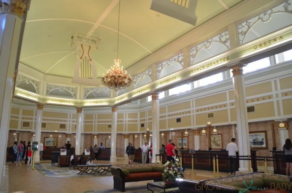 Port Orleans Riverside Resort - lobby