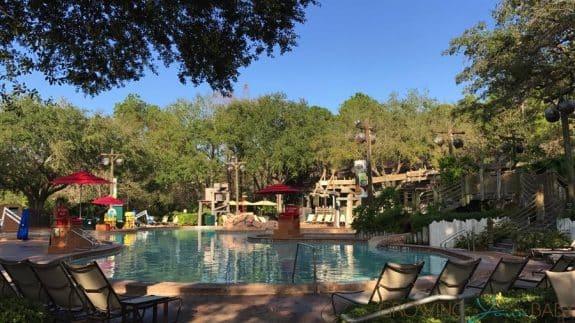 Port Orleans Riverside Resort - main pool area
