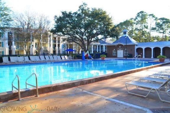 Port Orleans Riverside Resort - quiet pool