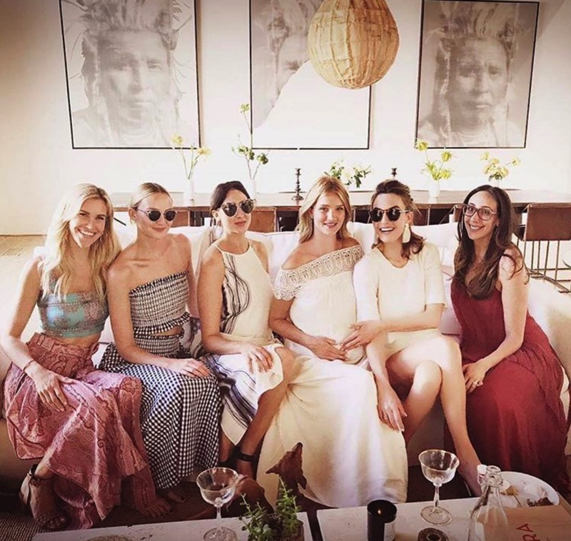Rosie Huntington-Whiteley Celebrates Her Baby Shower in LA