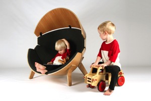 Kids Can Unwind in The Hideaway Chair