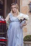 Very Pregnant Lauren Conrad looks ready to pop as she attends her Baby Shower