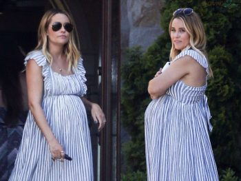 pregnant lauren conrad celebrates her baby shower in la
