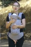 Birthday girl Natalie Portman out for a hike with her daughter