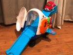 Go! Go! Smart Wheels Racing Runway Airplane - race time
