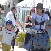 Marion Cotillard Steps Out With Her Kids in St. Tropez