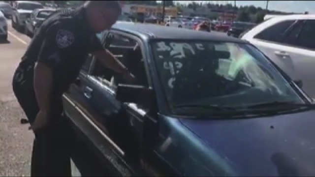 Police Rescue Baby Who Was Left In Hot Car For More Than 2 Hours
