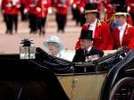 Queen Elizabeth II, Prince Philip, Duke of Edinburgh, trooping the colour 2017