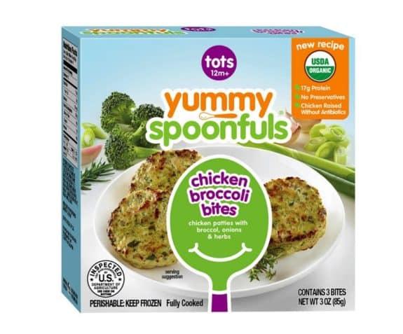Recalled toddler chicken Yummy Spoonfuls