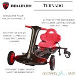 Rollplay Turnado
