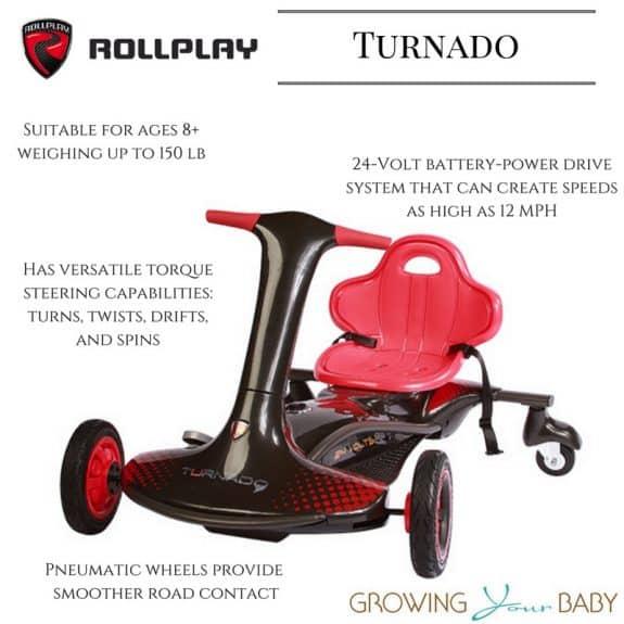 Rollplay Turnado
