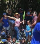 Ben Affleck and Jennifer Garner take their kids to 4th of July Parade